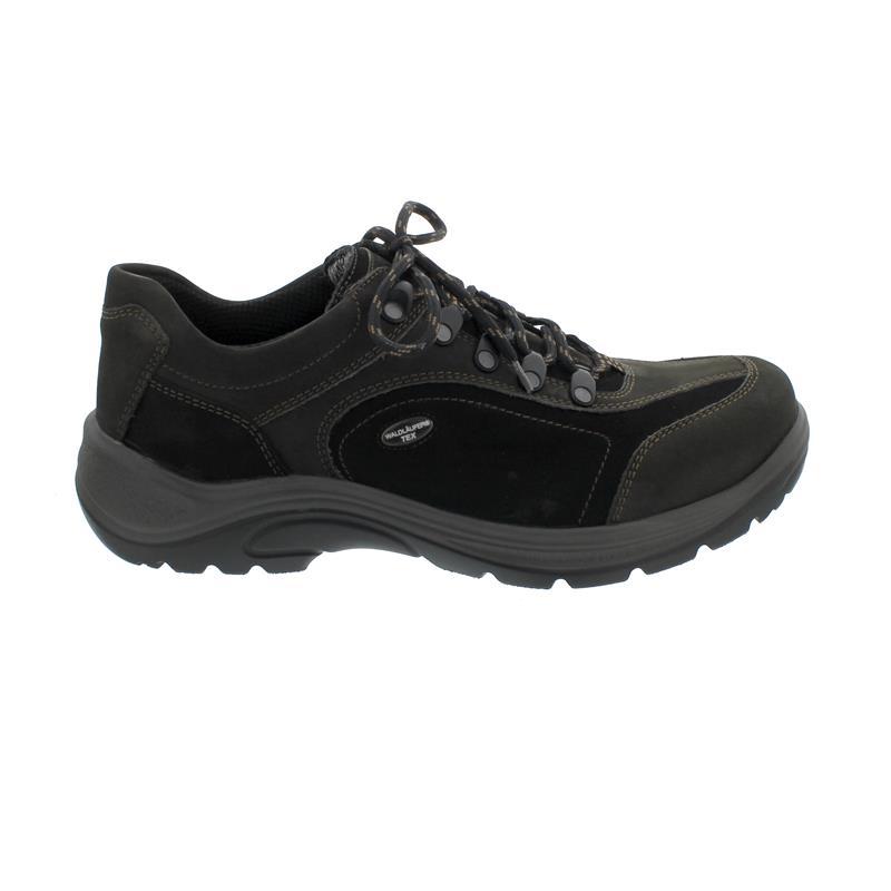 Waldläufer Hayo, Outdoor-Halbschuh, Denver Memphis, schiefer schwarz, Weite H 415901-481-990
