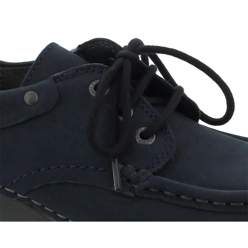 Wolky Fly Winter Halbschuh, Oiled nubuck, blue 0472616-800