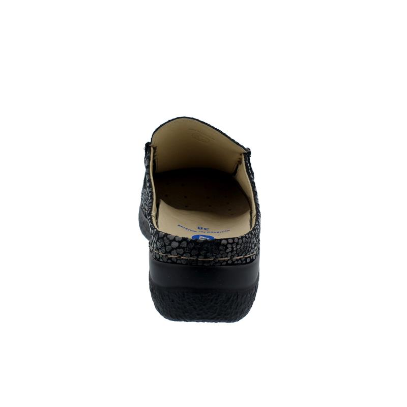 Wolky Roll-Slide Clog, Lagorta Suede (bedr. Nubuk) Anthrazit, 0620244-210