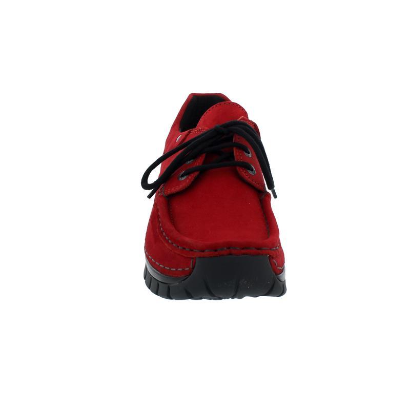 Wolky Fly Winter Halbschuh, Oiled nubuck, dark- red, 0472616-505