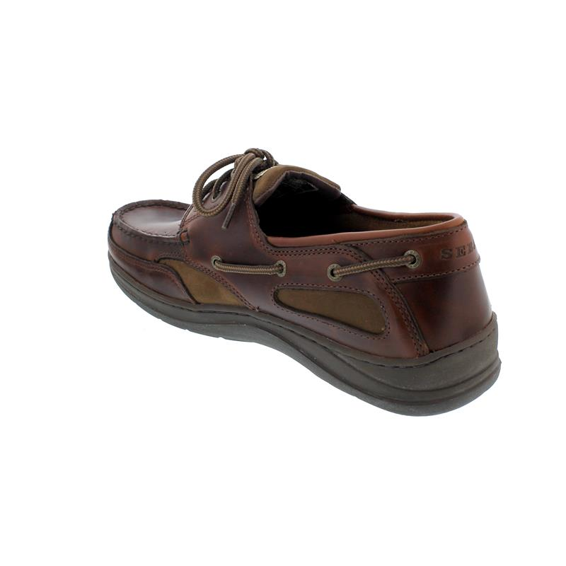 Sebago Clovehitch II, Full-Grain Leather Waxed, Walnut Wechselfußbett, 7000GE0-922 Man