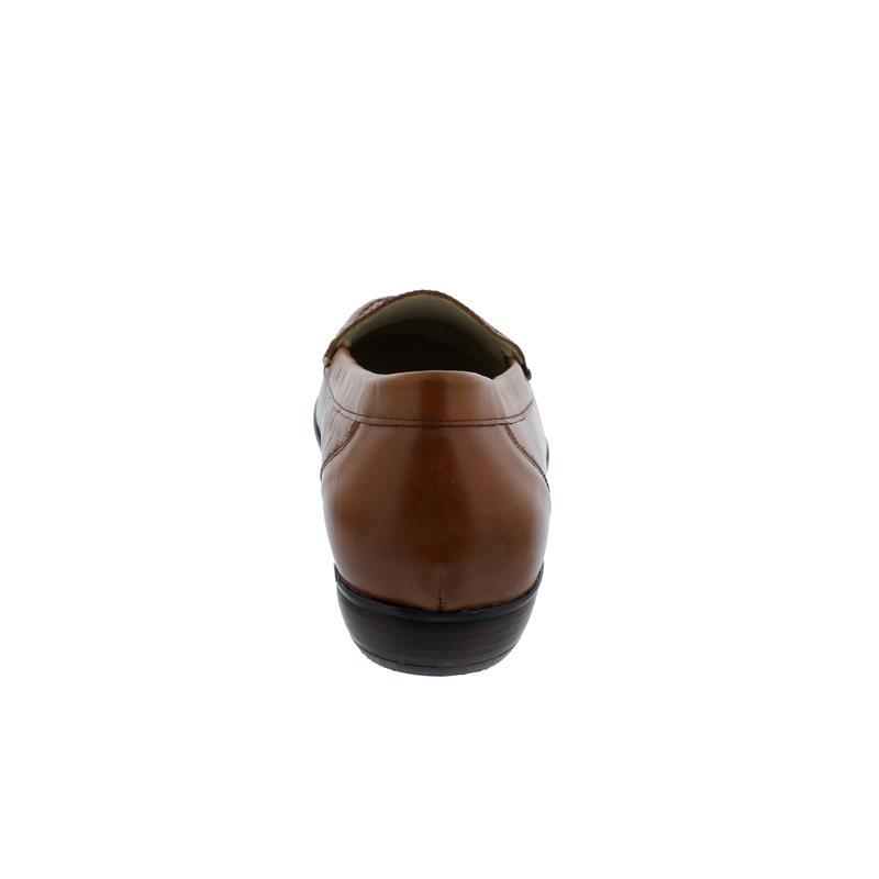 Waldläufer Hina Mokassin, Cuba (Glattleder), cognac, Weite H 437502-119-082