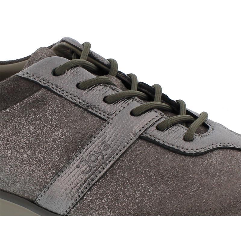 Joya Emma Grey Sneaker, Velour- / Full Grain Leather /  Textile, Air-Sohle, Kategorie Emotion, 873cas