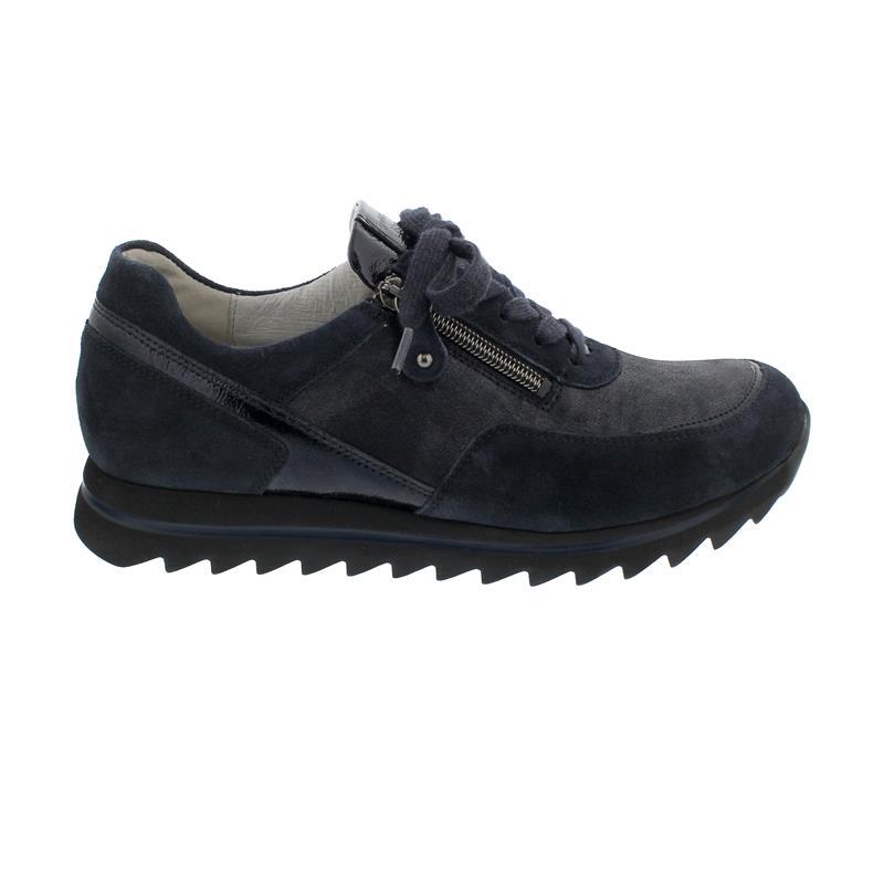 Waldläufer Haiba Sneaker, Vel. Taip. Bronx Vel. Tai V., deepblue/notte, Weite H 923011-605-763