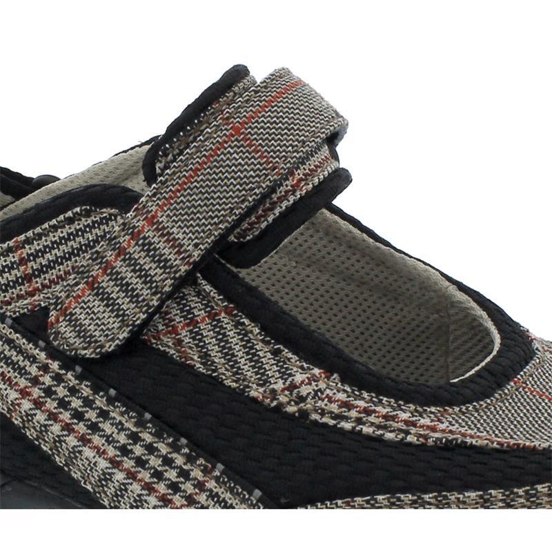 Allrounder Niro Sneaker, Klettverschluss, Square 46/D.Mesh 39 DK OAK/Black,  N819