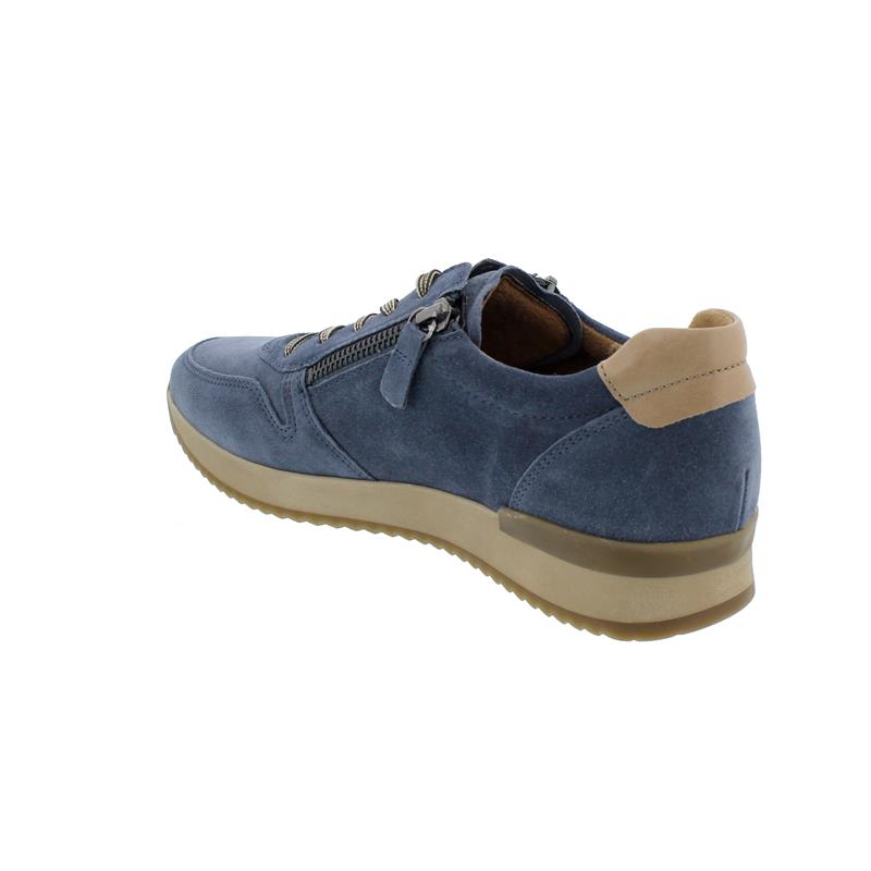 Gabor Sneaker, Dreamvel./AngelNap., winterblau/desert, Wechselfußbett, Best Fitting, 53.422.16