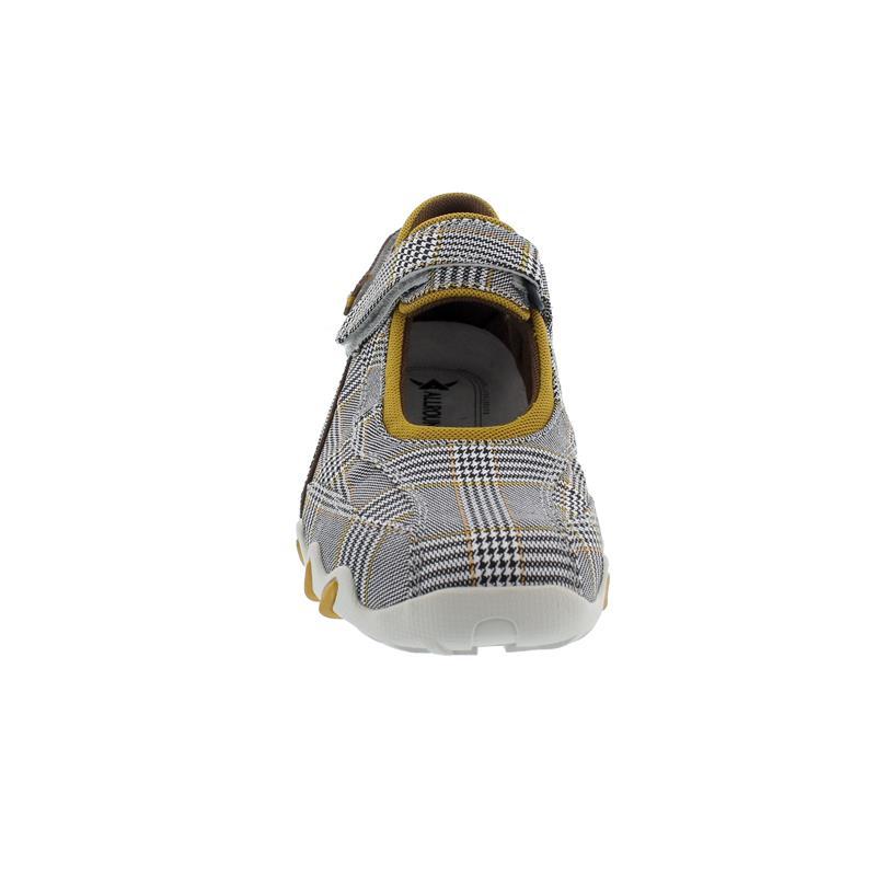 Allrounder Niro Sneaker, Klettverschluss, Square 39, black/white, N819