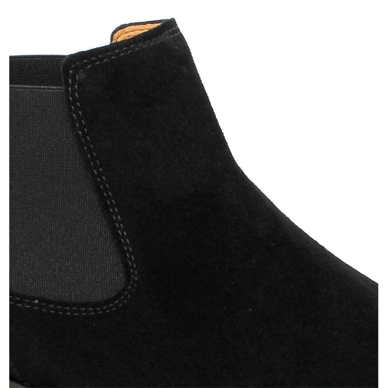 Gabor Chelsea-Boot, Dreamvelour, schwarz,  51.640.17