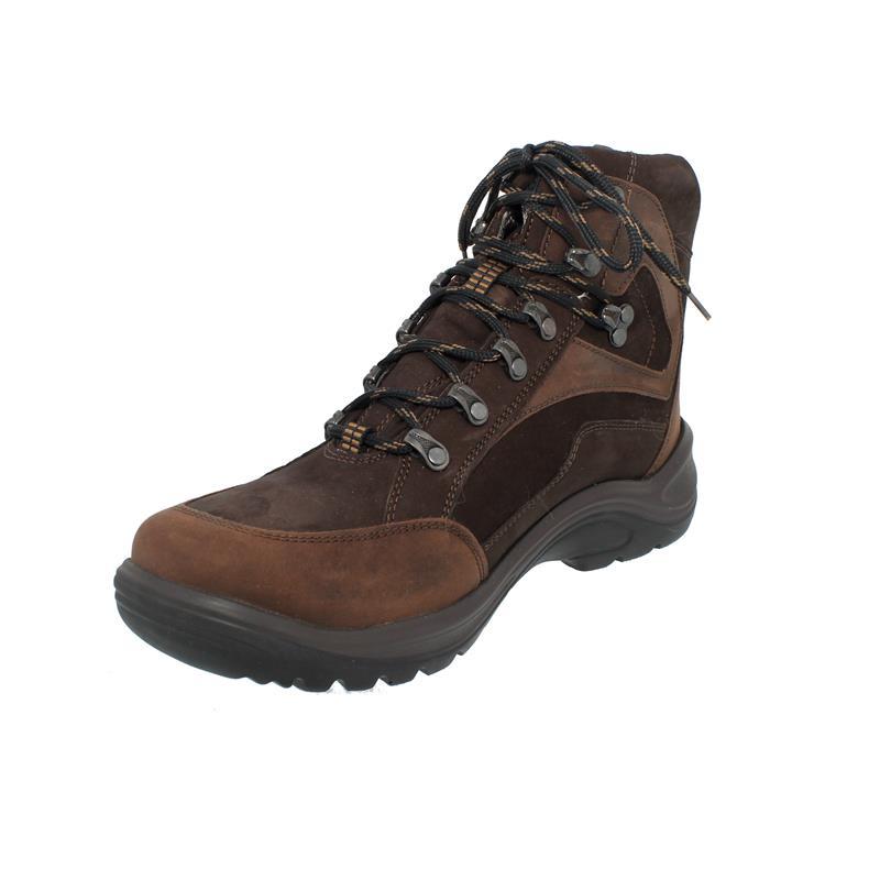 Waldläufer Hayo Schnür-Boot, Waldläufer-Tex, Nubukleder,  moro nuba, Weite H 415900-304-304