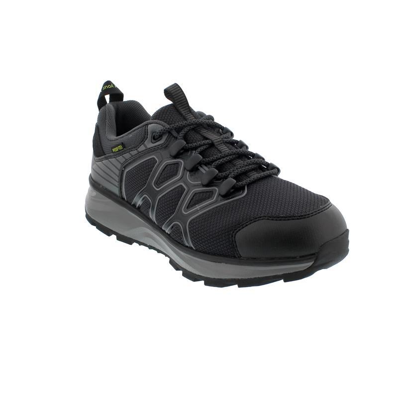 Joya Santiago STX (Sympatex) Sneaker, Black / Grey, Textile, Air-Sohle, Kat. Emotion 198out