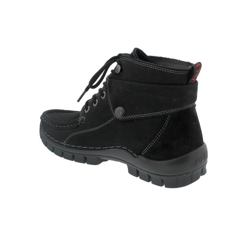 Wolky Jump Winter CW, Nepal oiled,  Warmfutter, Black 0473650-000