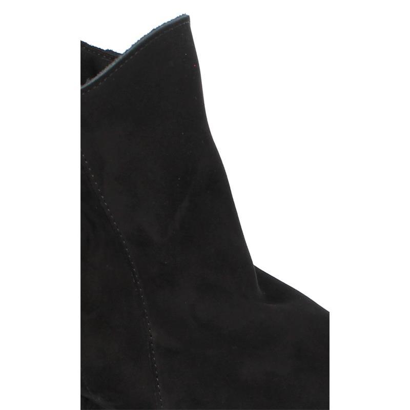 Arche Malahi, Stiefelette, Nubuck, noir (schwarz), Reißverschluss