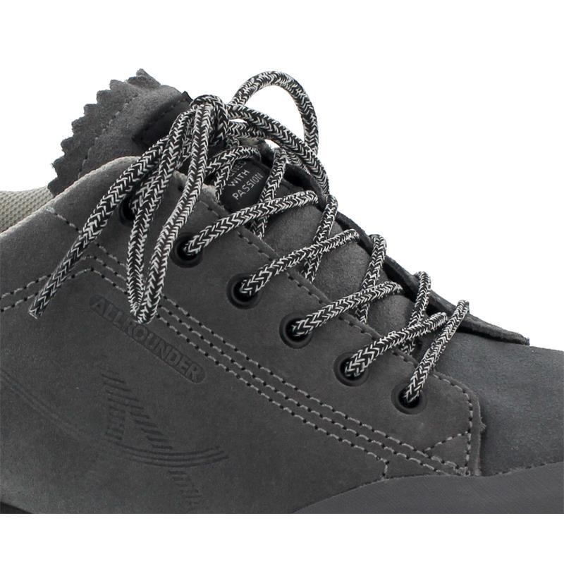 Allrounder Nasan-Tex  Sneaker (AllrounderTex), Rubber 52 /. Suede 52, Shark / Shark (grau) AN043