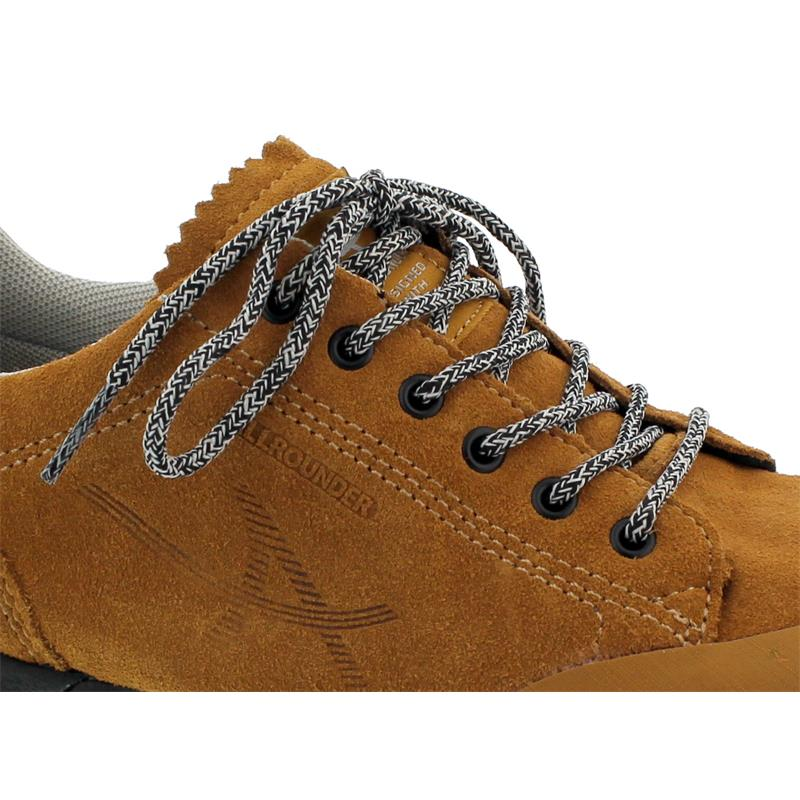 Allrounder Nasan-Tex Sneaker,  (AllrounderTex),  Rubber 85 / . Suede 85, Curry / Curry AN043