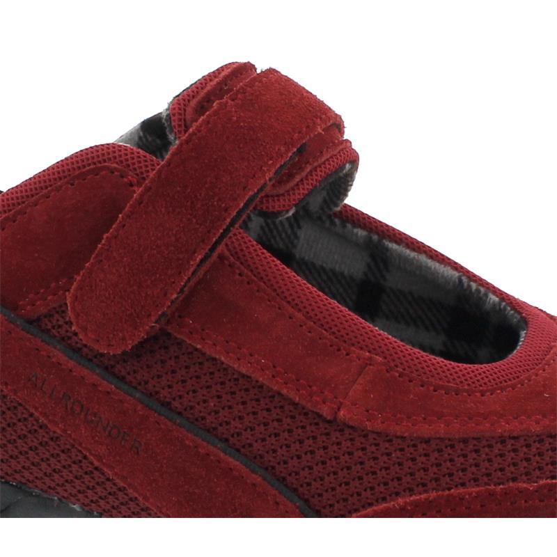 Allrounder Niro Sneaker, Chili Pepper, C .Suede  41 /  K. Mesh 41, Klettverschluss N819