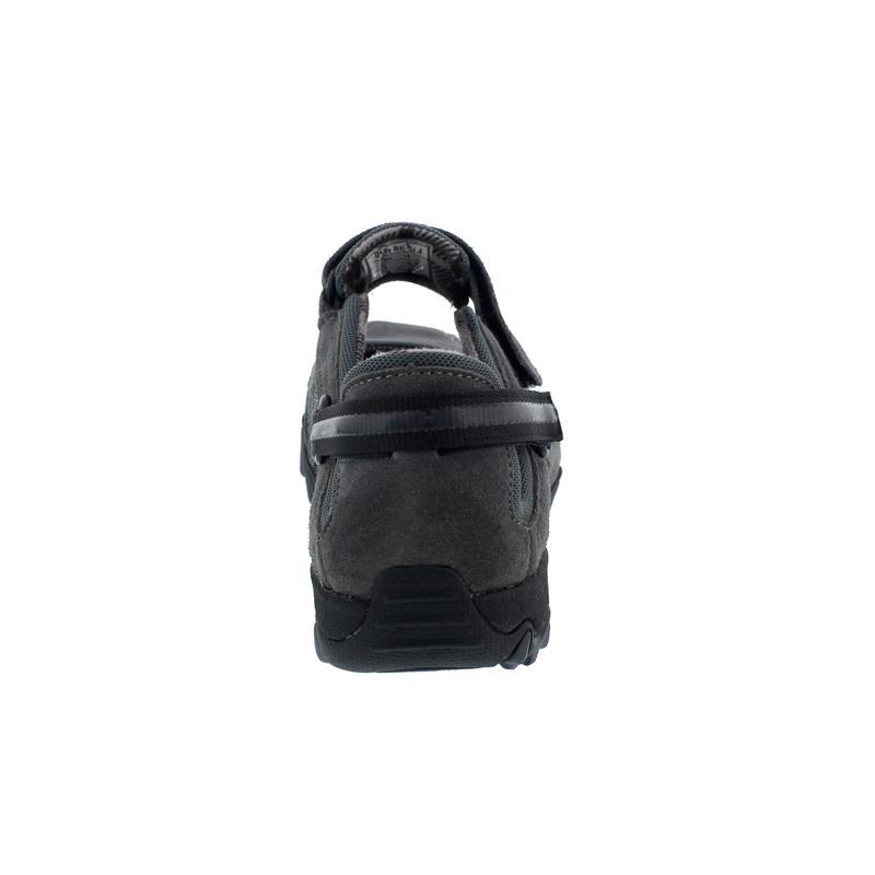 Allrounder Niro Sneaker, Shark / Black, C .Suede 52 / Knitted 39, Klettverschluss N819