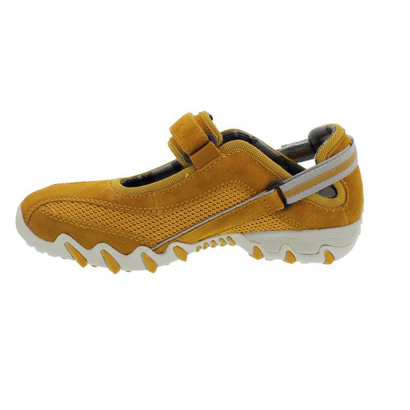 Allrounder Niro Sneaker, Sunflower / Sunflower, C. Suede 47 / K. Mesh 47, Klettverschluss N819