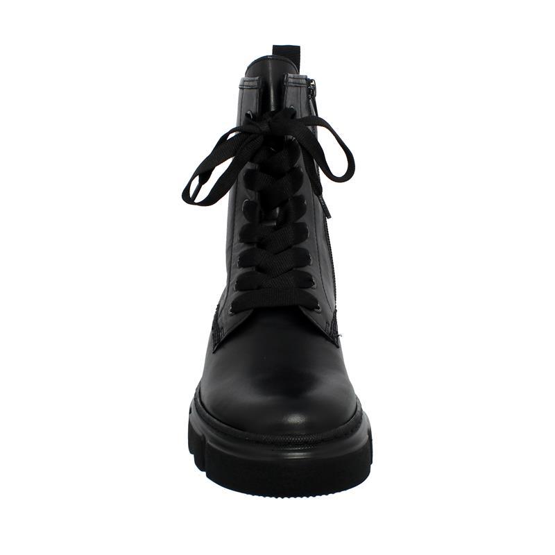 Gabor Bootie, Foulardcalf (Flausch), schwarz,  Best Fitting, Wechselfußbett 51.730.27