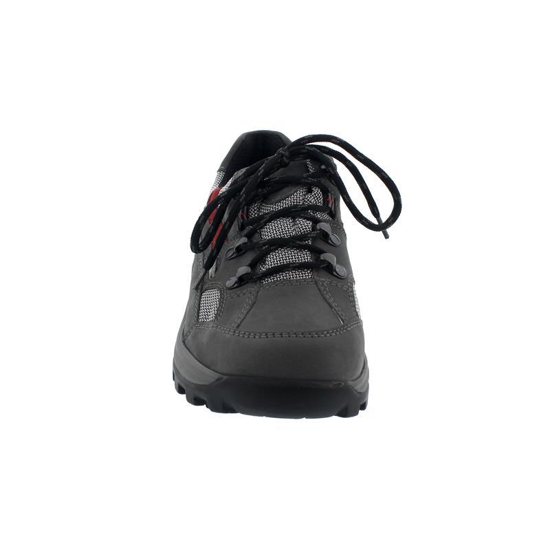 Waldläufer Holly Halbschuh, Denver Torrix, basalt cherry  silber, Weite H 471240-494-247