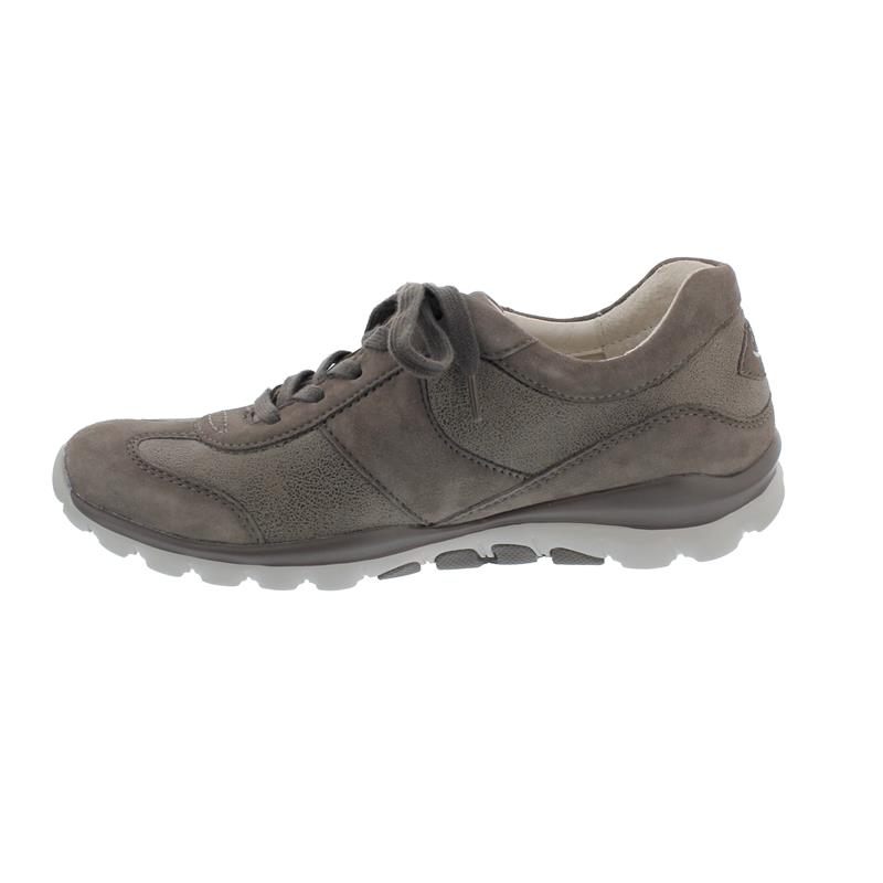 Rollingsoft Sneaker zum Schnüren, Stromoli El./Samt, fumo/ fango, Wechselfußbett 56.960.31
