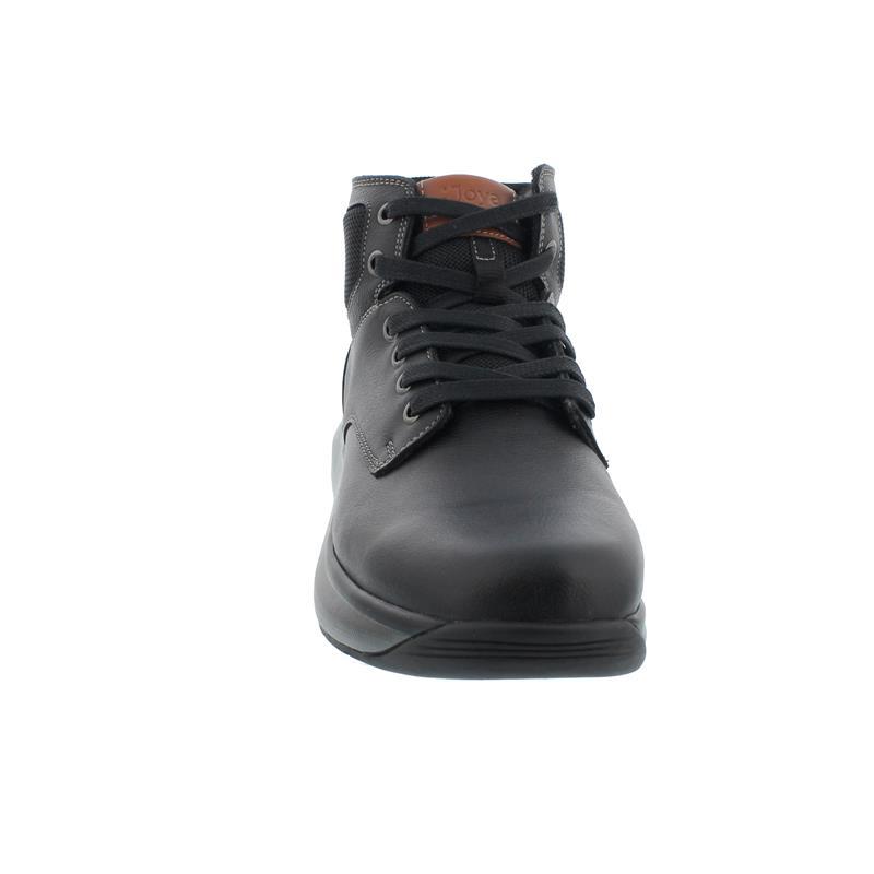 Joya Rudolf Black Midcut Stiefel, Full Grain Leather/ Textile, Senso-Sohle, Kategorie Emotion 195boo