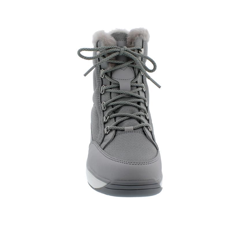 Joya Tiffany STX White/Grey Stiefel, SympaTex, Textile/ Microfiber/Fur, Senso-Sohle,  857boo