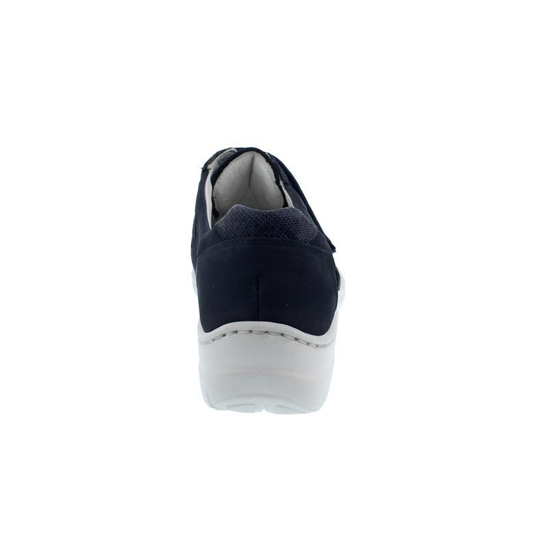 Waldläufer Hania Sneaker Klett, Denver Matura, marine notte, Pro-Aktiv Fussbett, Weite H 931301-214-217