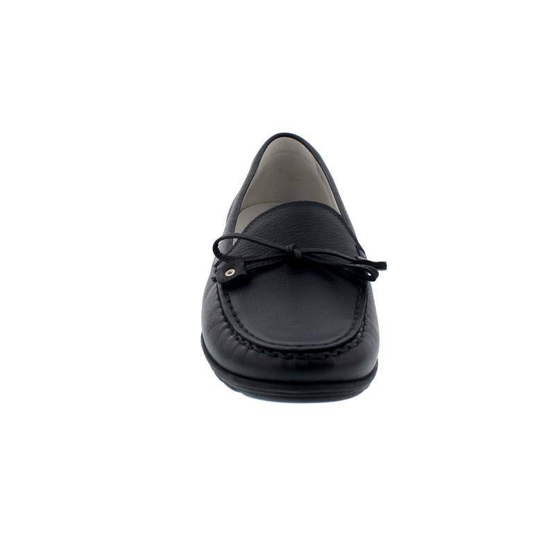 Waldläufer Hesima, Mokassin, Porto (Glattleder), schwarz, Weite H 329501-171-001