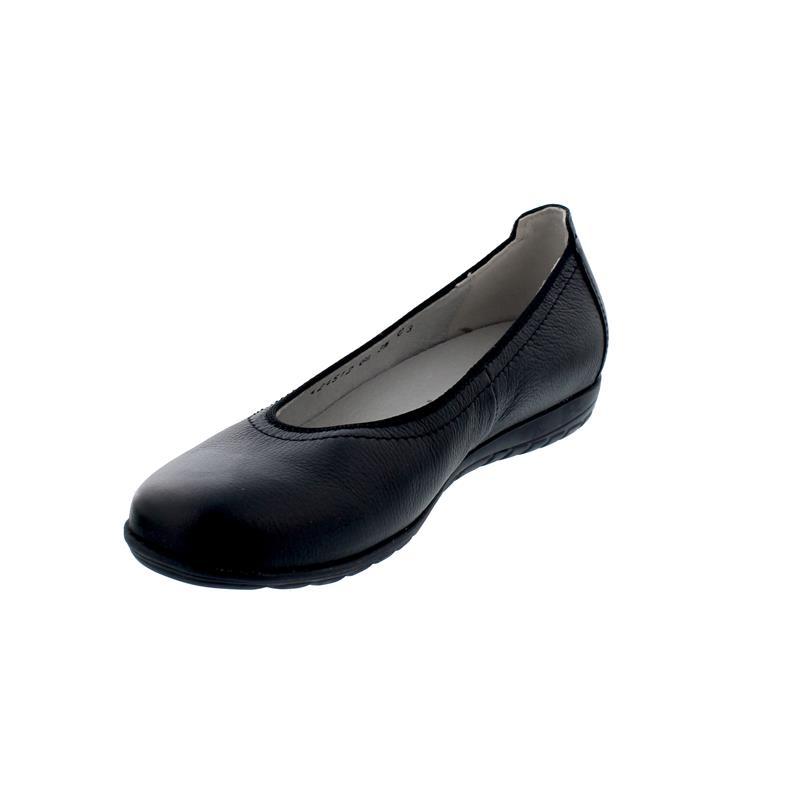 Waldläufer Hesima, Ballerina, Porto (Glattleder), schwarz, Weite H, 329051-171-001