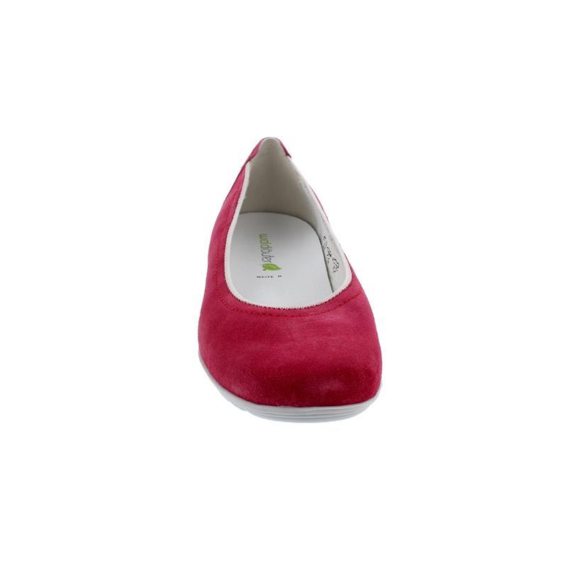 Waldläufer Hesima, Ballerina, Order (Velourleder), pink, Weite H, 329051-195-193