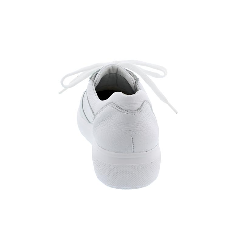 Waldläufer H-Vivien Sneaker, Hirsch-Leder, weiss, Weite H 763015-199-150