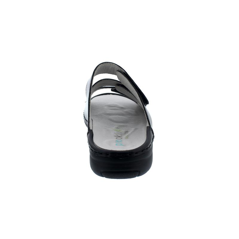 Waldläufer Gunna Pantolette, Memphis / Taipei, schwarz, Weite G, Pro-Aktiv-Fussbett 204501-604-001