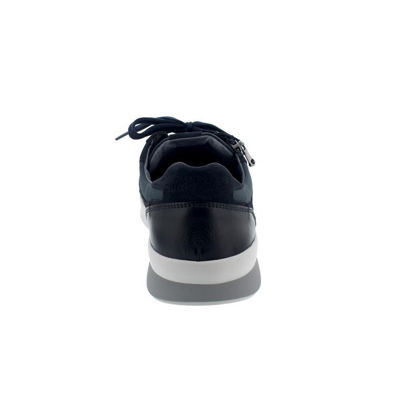 Waldläufer K-Fabian, Velour Business Memphis Velour, deepblue notte, Sneaker, Weite K 654001-409-763