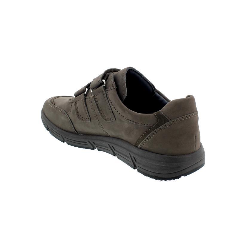 Waldläufer Haslo Halbschuh, Denver / Velour,  pietra peltro (grau), Weite H 323301-200-615