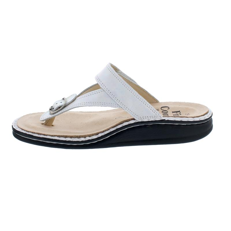 Finn Comfort Alexandria-S, Pantolette, Iri (Leder), perla, 81524-704285