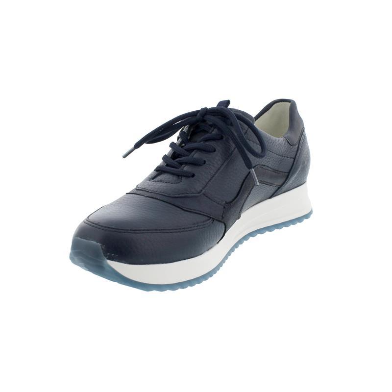 Waldläufer - MYDEER, H-Vicky Sneaker, Hirsch Bronx Leder, notte, Weite H 752002-200-194