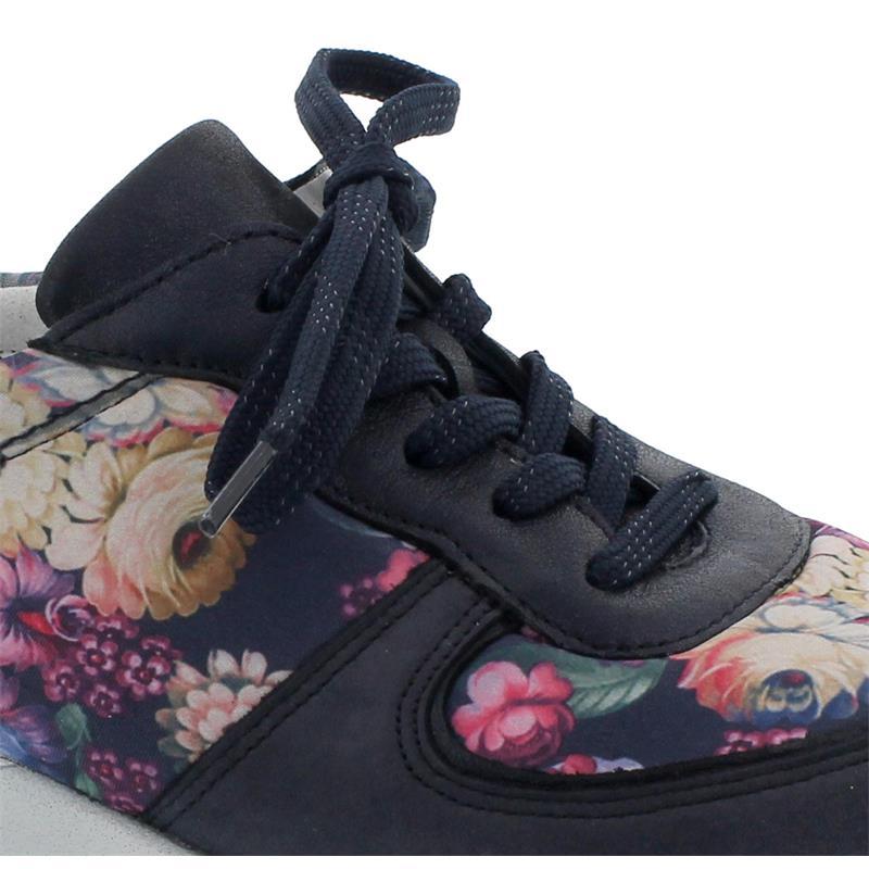 Waldläufer Hiroko Sneaker, Denver Bronx Colorfulstretch, marine notte multi, Weite H H64001-371-845