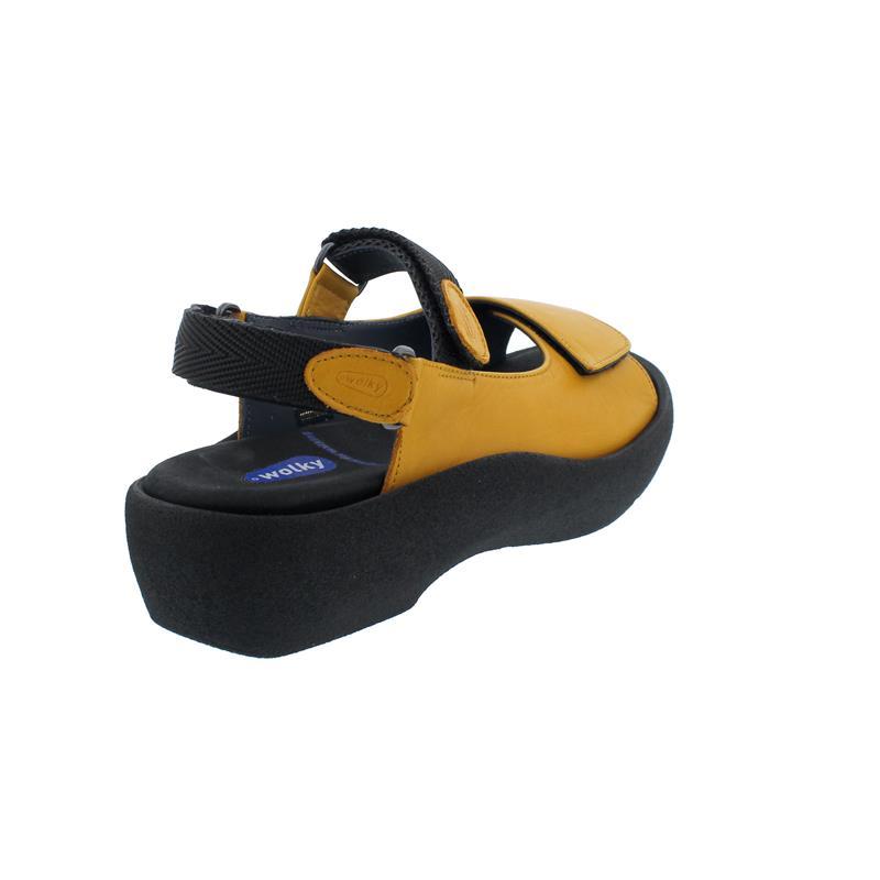 Wolky Jewel Sandale, Savana leather, ochre, 0320434-920