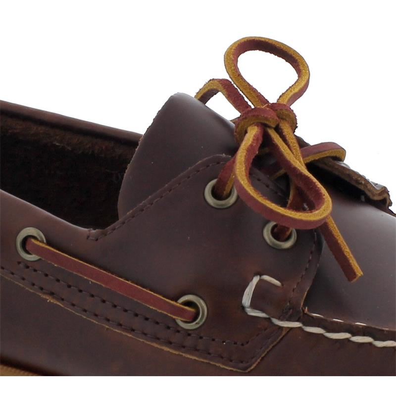 Sebago Docksides, Waxed Leather, Brown / Honey, Men 70000G0-A20