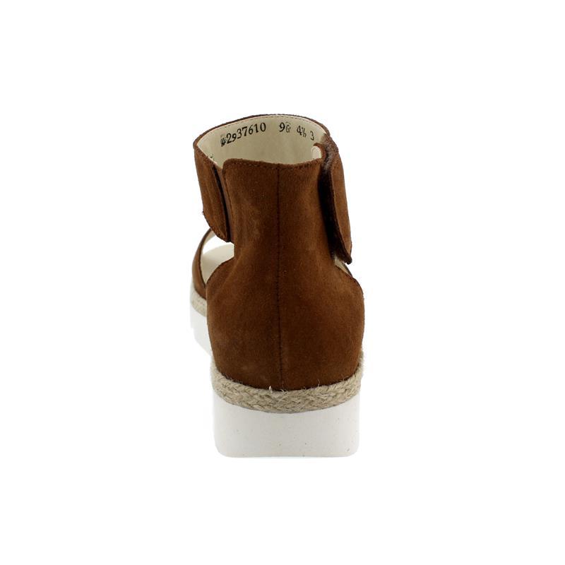 Waldläufer H-Sissy Sandale, Velour (Order), cognac, Weite H, 770802-195-082