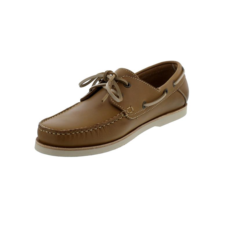 Wuzzos Branklet Boat Shoe, Glattleder, Tan, Men WZ-MSF001