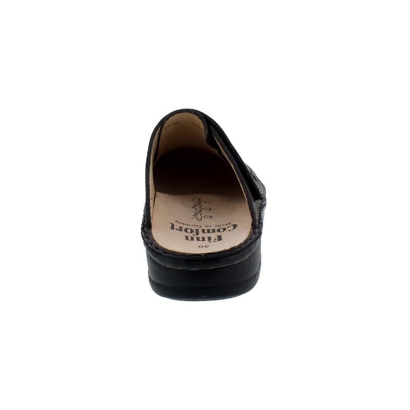 Finn Comfort Amalfi - Clog, Klettverschluss, Hillcrest (Glattleder), coffee 1515-650432