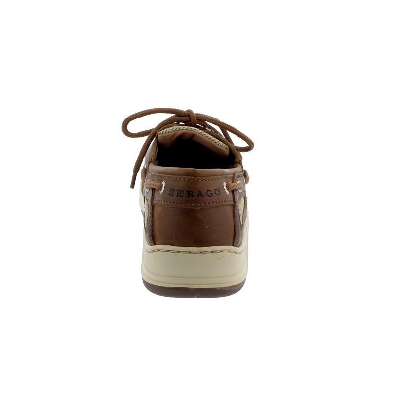 Sebago Clovehitch II Extraweit, Full-Grain Leather Waxed, Brown Cinnamon, Wechselfußbett, 7000GE0-922 Men