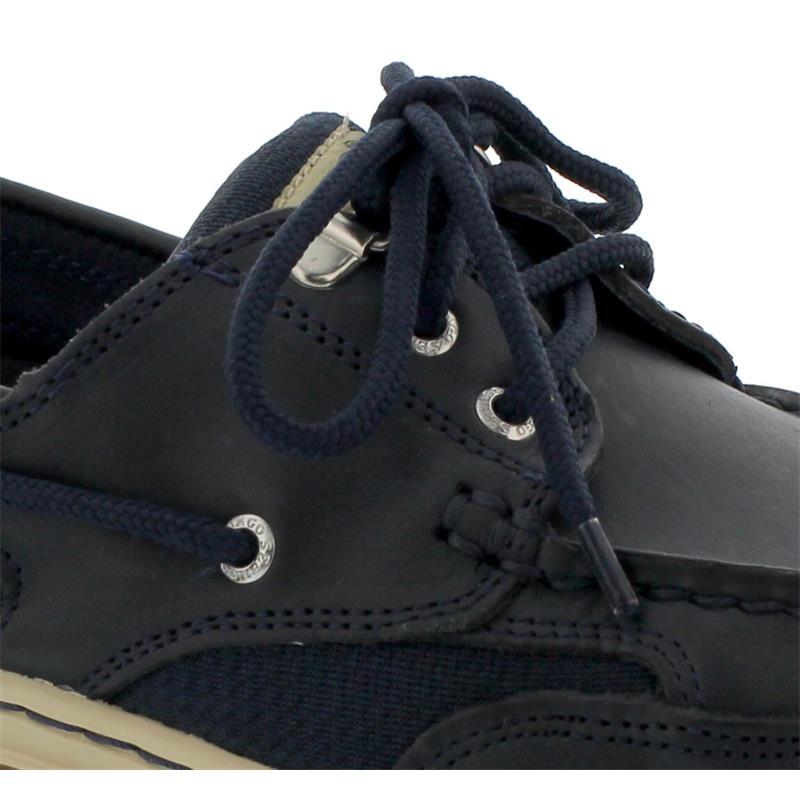 Sebago Clovehitch II EXTRAWEIT, Full-Grain Leather Waxed, Blue Navy, Wechselfußbett, 7000GE0-908 Men