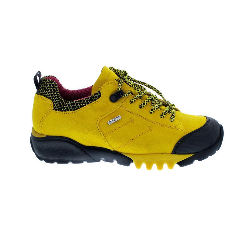 Waldläufer H-Amiata Outdoor-Halbschuh, Gummi Velour-Free Sport-N, gelb 787950-400-220