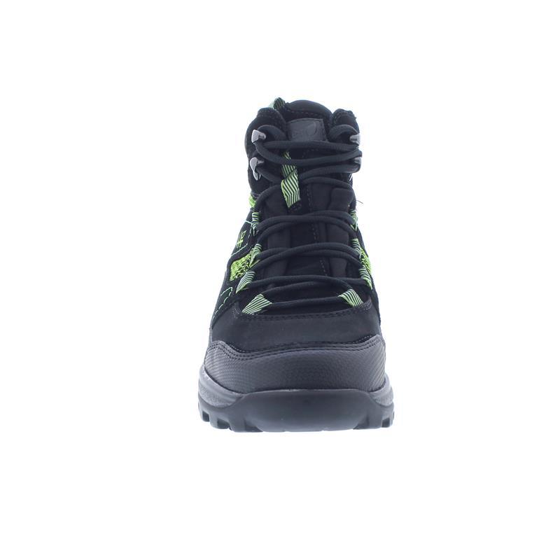 Waldläufer Holly Bootie, Waldläufer-Tex, Gummi/Order Den./ Sportnet, schwarz/fichte, Weite H 471974-500-001