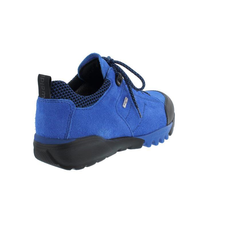 Waldläufer H-Amiata Outdoor-Schuh, Gummi Velour-Free Sport-N, blau mare, 787950-400-198