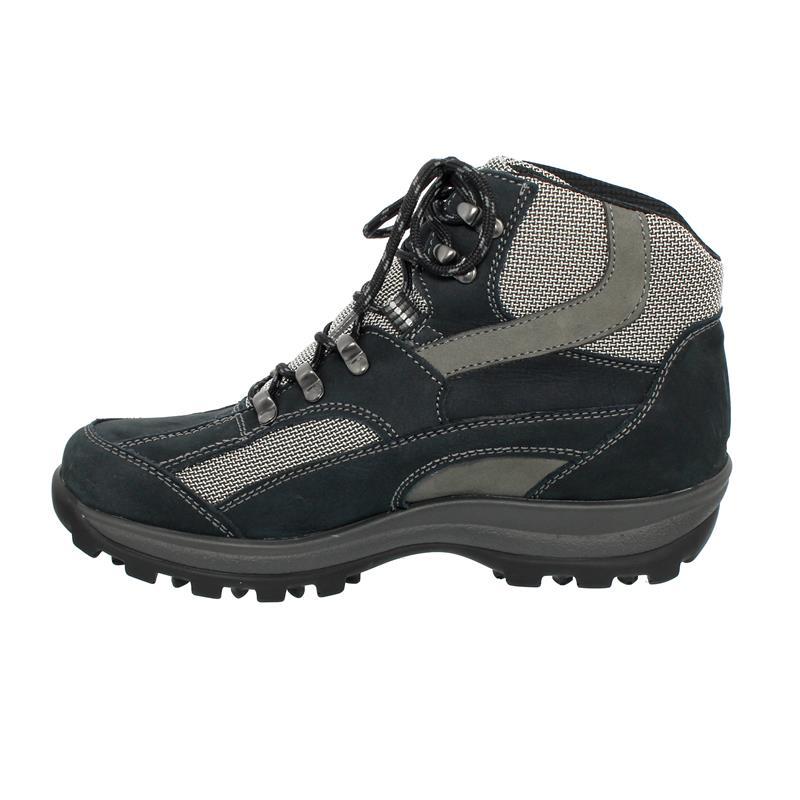 Waldläufer Holly Bootie, Waldläufer-Tex, Nubukleder/Torrix, notte/basalt/silber, Weite H 471900-452-312