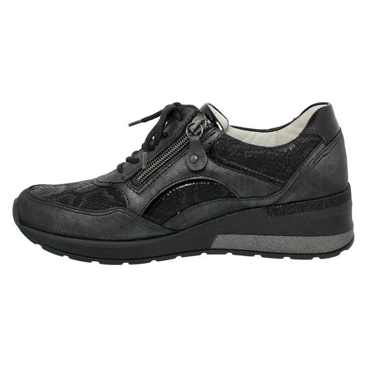 Waldläufer H-Clara, Sneaker, Bronx Snak Taipei, schwarz,  Weite H 939011-317-001
