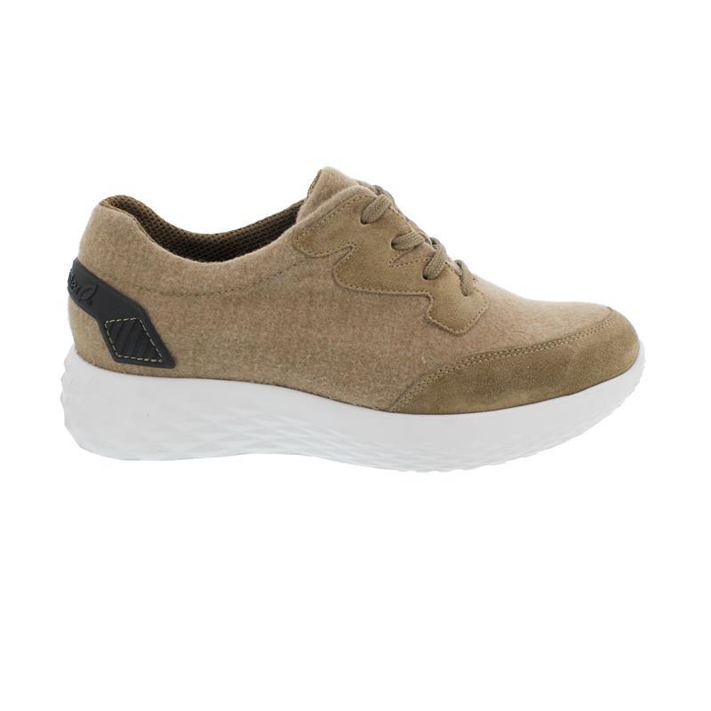 Waldläufer H-Franzi, Sneaker, Order Merino, taupe, Weite-H, 726402-201-230